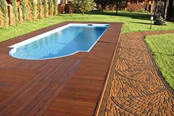 Дизайн уличного бассейна