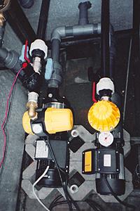 Насосное оборудование системы полива