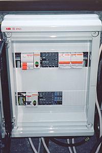 Щит электропитания, управления и контроля системы полива.