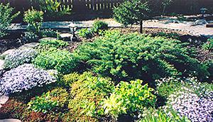Центральная композиция сада